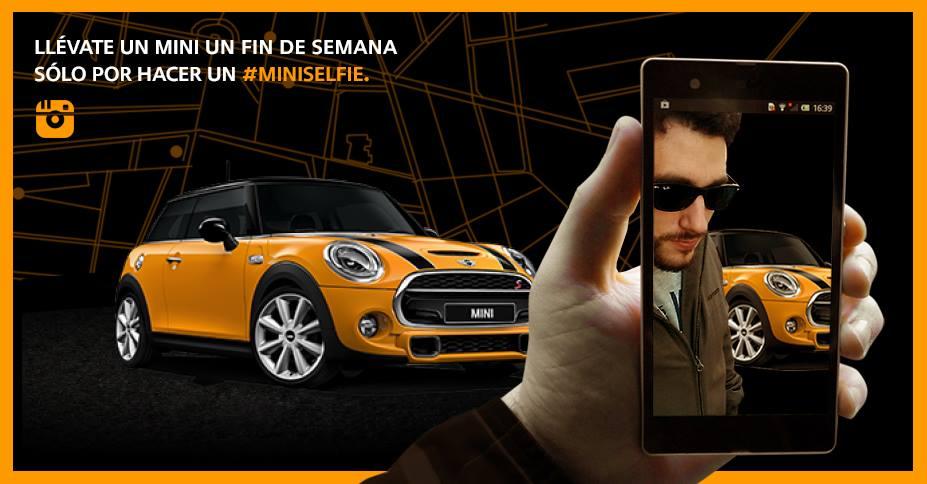 MINI Selfie Campaña Instagram