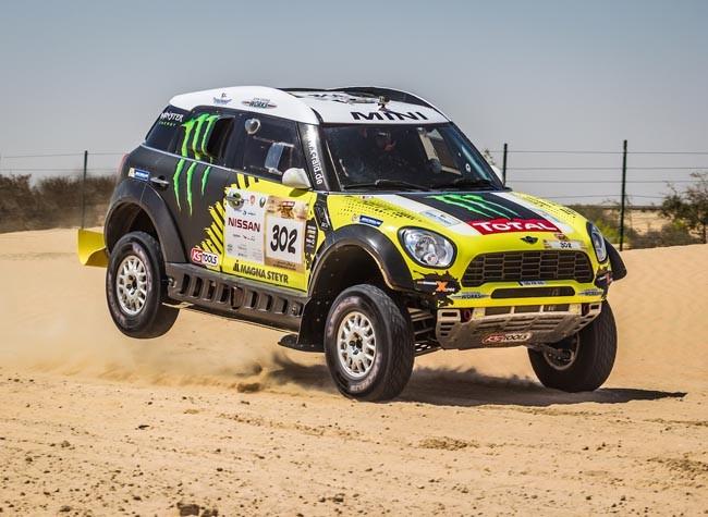 Nani Roma Abu Dhabi Desert Challenge 2014