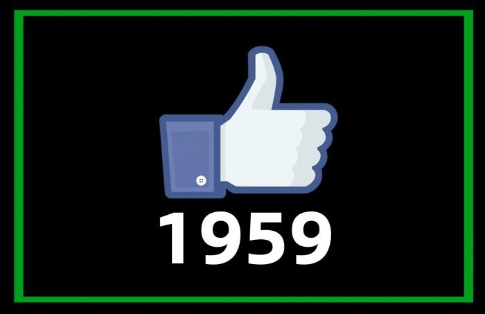 1959 FB Likes