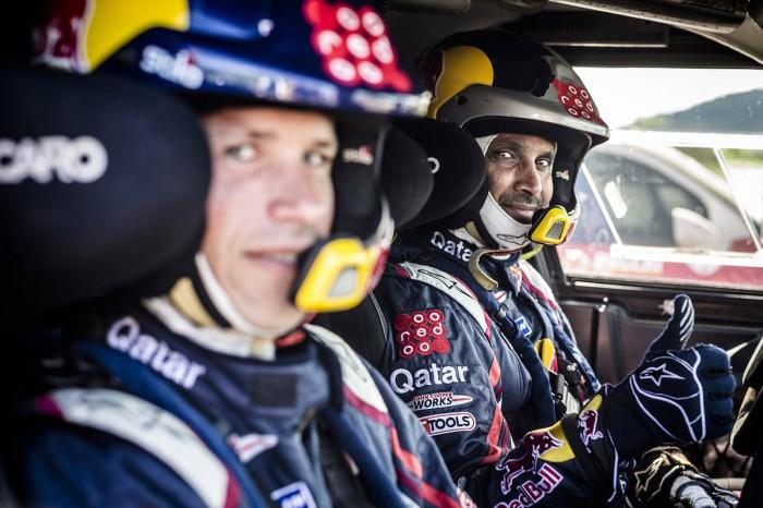 Nasser Al Attiyah Dakar Winner