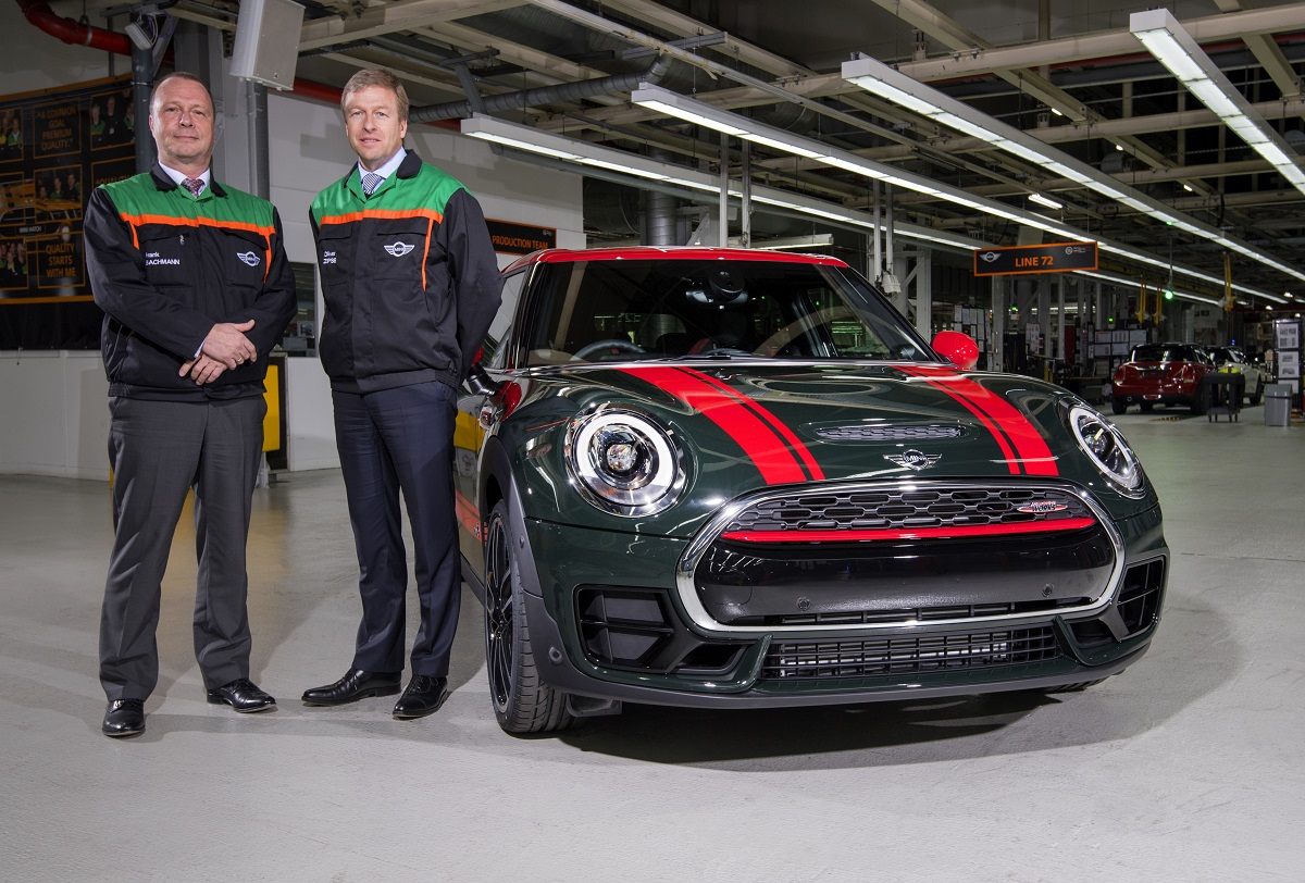 MINI 3 millones planta de Oxford