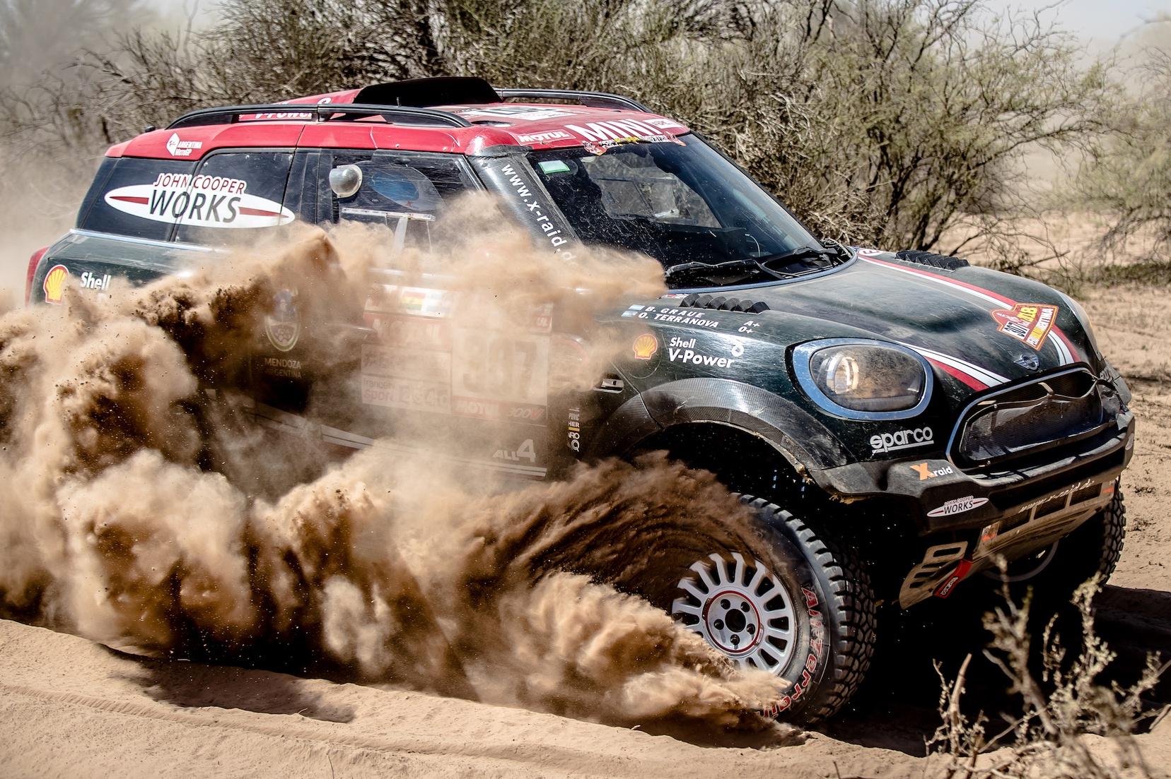 Dakar final MINI