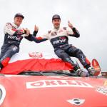 Final del Dakar 2018. Przygonski y Colsoul, quintos de la general.