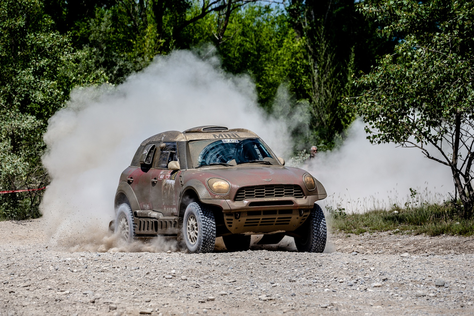 MINI Italian baja winners 2018 mud