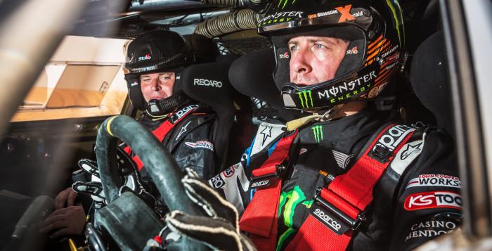 Orlando Terranova and Bernardo Graue – MINI ALL4 Racing 305 Dakar 2015
