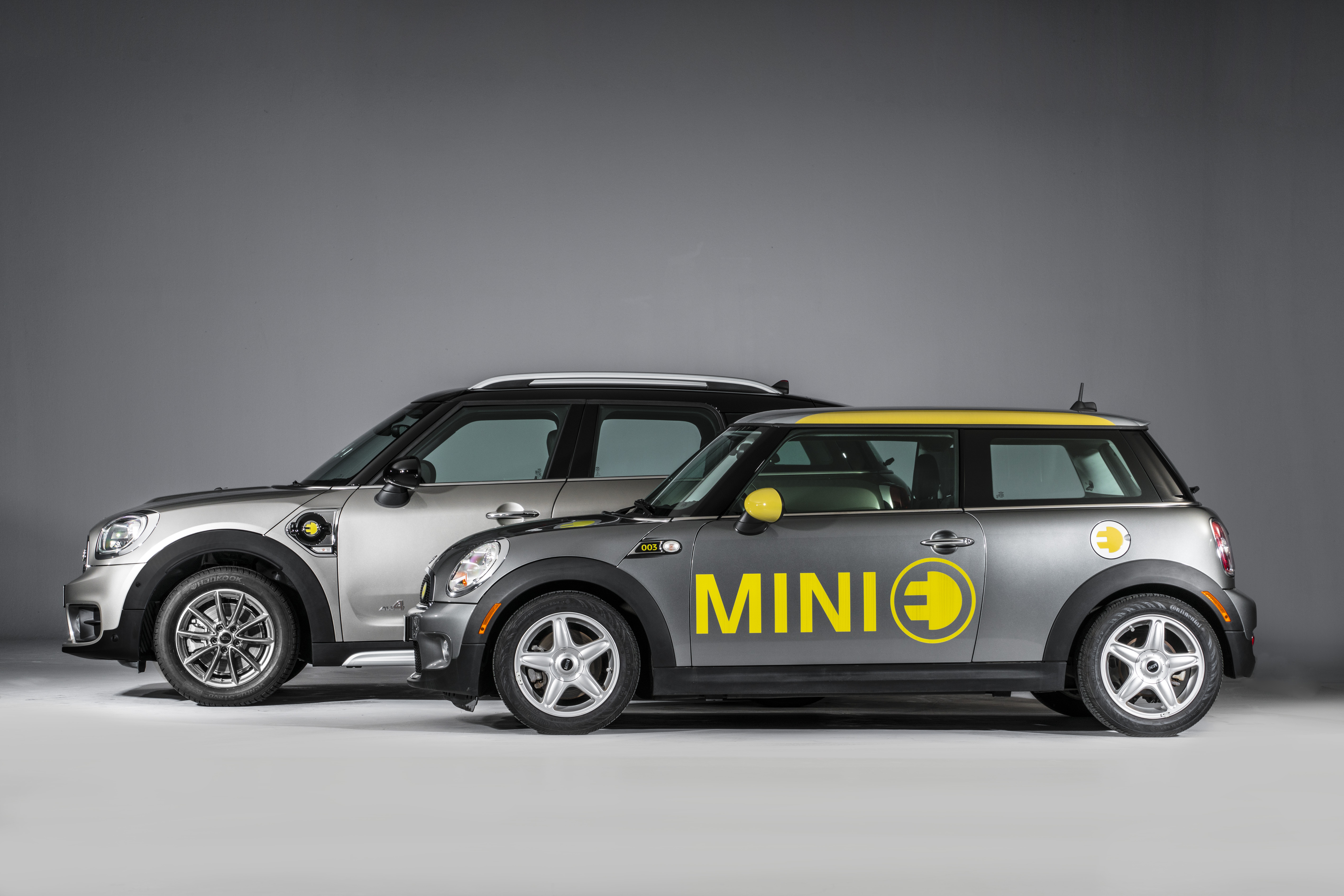MINI e y MINI Countryman enchufable