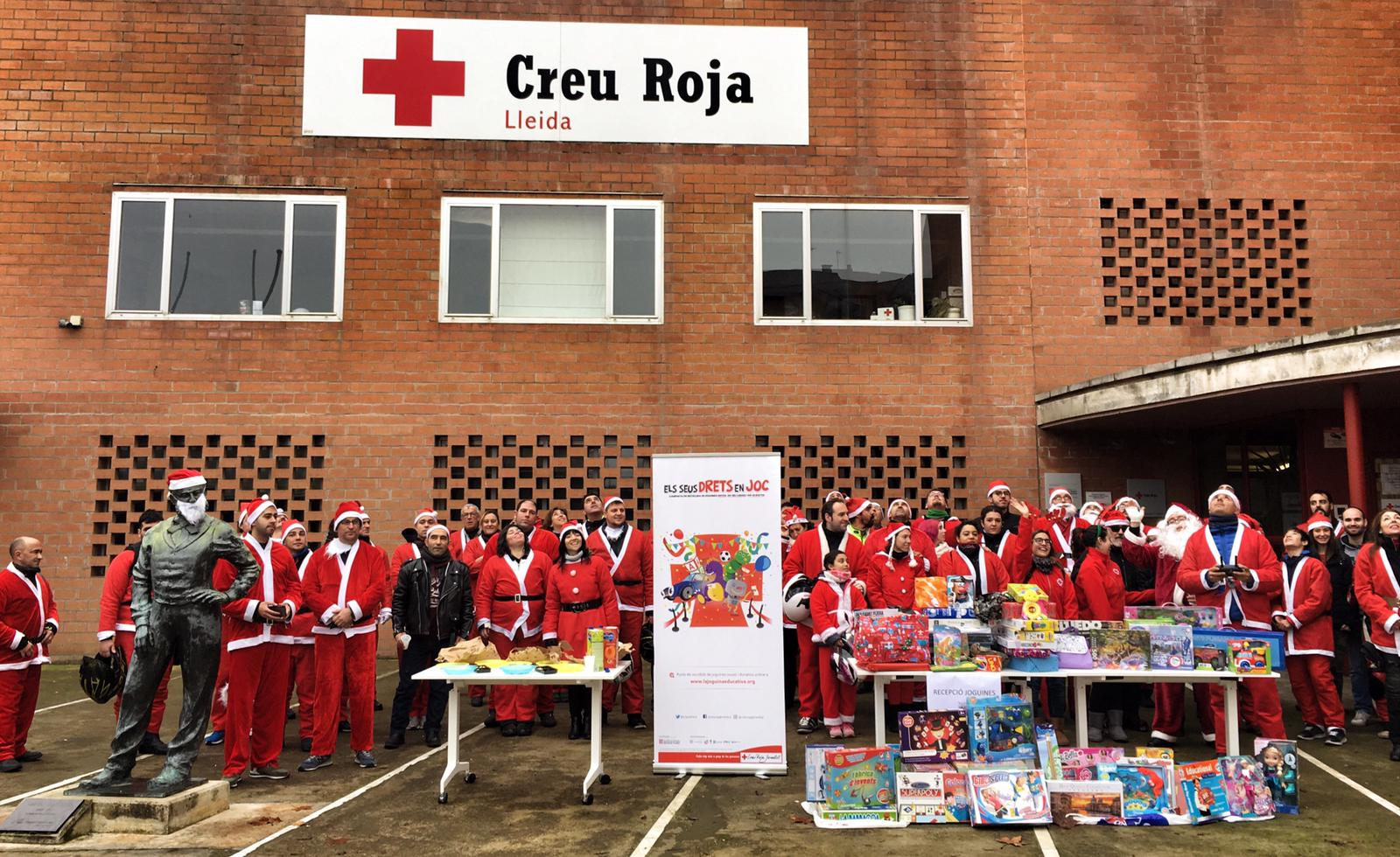 Club mini red cross cruz roja lleida the comminity