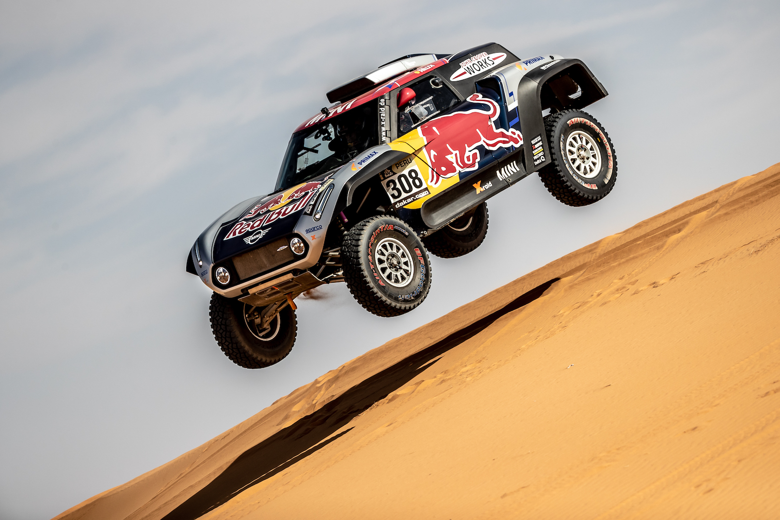 Carlos Sainz MINI Dakar 2019 2