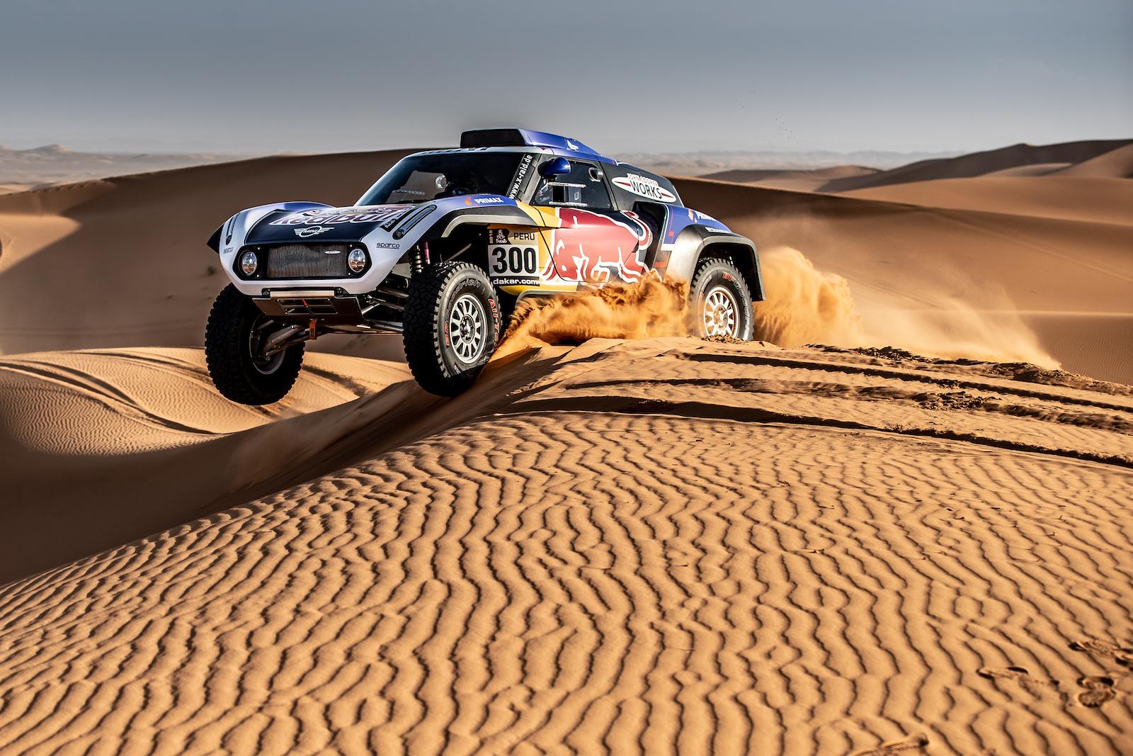 Carlos Sainz MINI Dakar 2019 3
