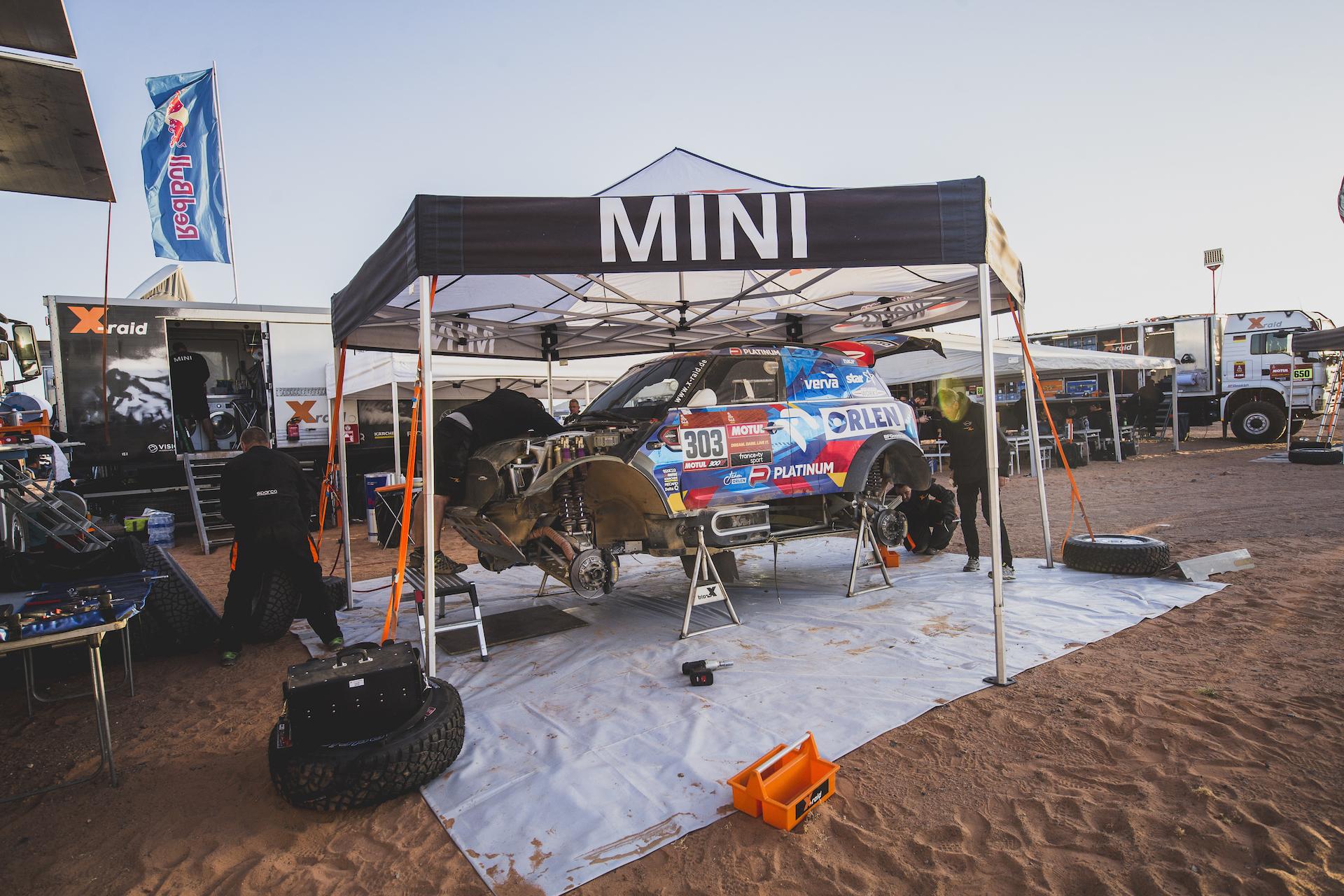 Bahrain JCW X-Raid Mini
